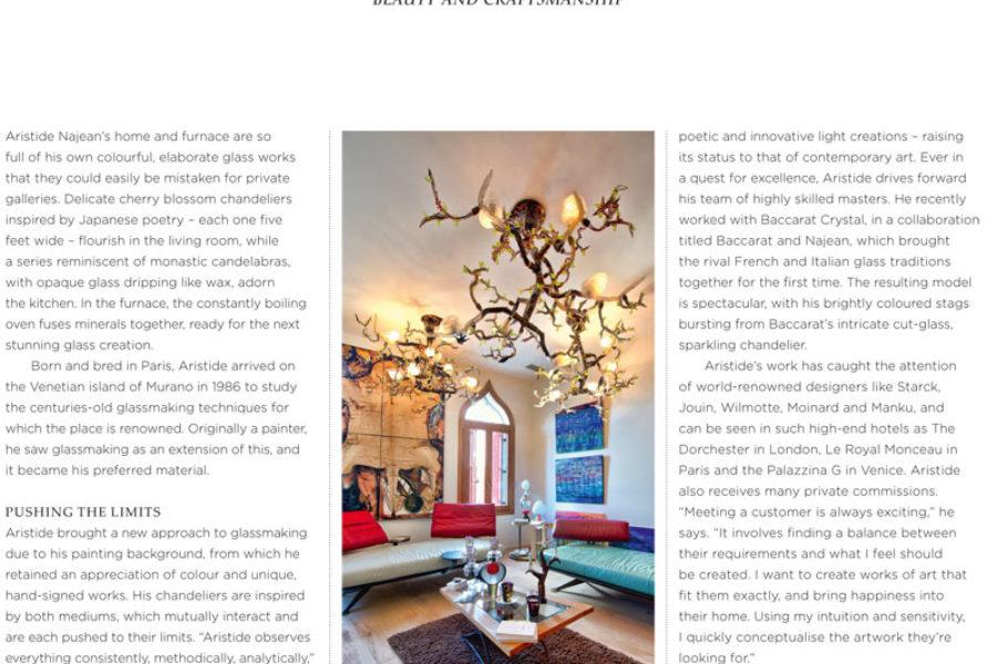 Najean partenaire 2016 de Rolls-Royce Enthusiast's Club – Page incluse dans leur livre annuel 2016